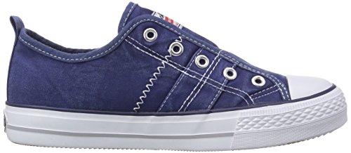 Dockers by Gerli 36AY60 - zapatillas deportivas altas de lona infantil azul - Blau (navy 660)
