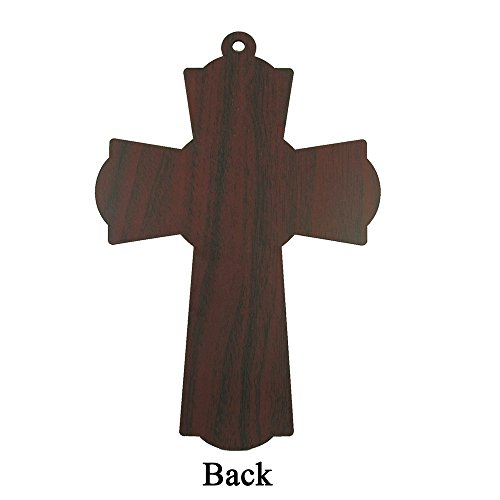 Baptism Wall Cross Favor in Decorated Organza bag 12pcs by WE (Image #2)