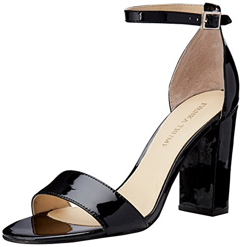 best sale cheap online Ivanka Trump Women's Klover Heeled Sandal Black Patent excellent clearance high quality gW8TILZ