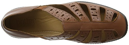 low cost sale online browse online Hotter Women's Peru Closed Toe Sandals Brown (Tan) outlet exclusive HkWaUK9h