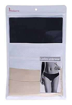 Breathable Underwear Women Wealurre Seamless Bikini Nylon Spandex Mesh Panties