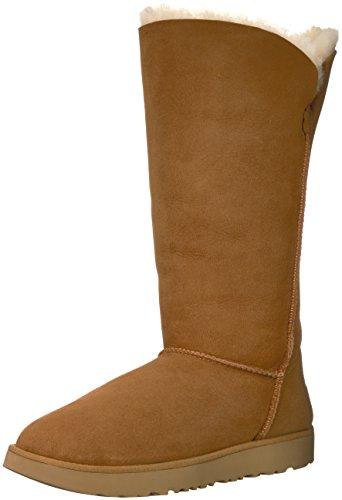 UGG Women's Classic Cuff Tall Winter Boot,Chestnut,9 M US