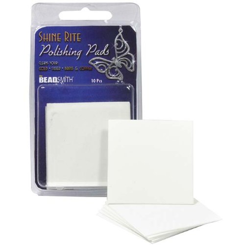 Shine Rite Jewelry Polishing Pads 2 x 2 Inches (10 Pads)