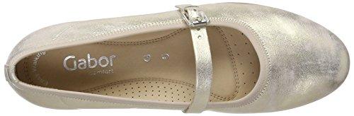 Gabor Rosa Ballerine Shoes Comfort 63 Platino Donna Znq8ZxU