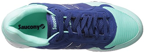 Blue Shadow Blu Nylon Sneaker 5000 E In mint Suede Saucony fq8SwZ