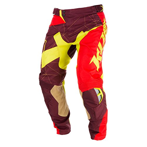 Series Race Pants (Klim XC Series Mens Motocross Pants - Red - 32)