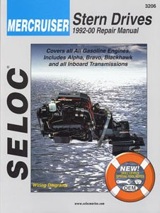 Mercruiser Stern Drives 1992-2001 Repair Manual