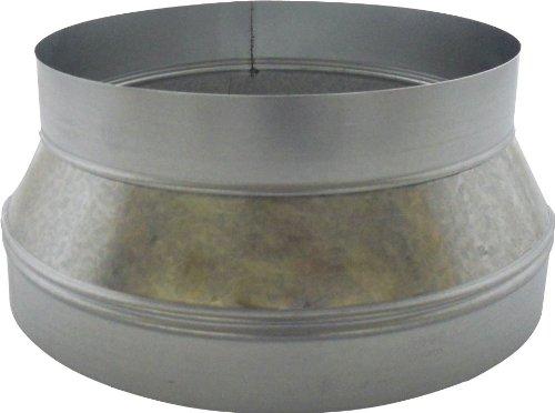 Speedi-Products SM-RDP 108 10-Inch by 8-Inch Round Galvanized Plain Reducer