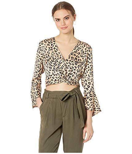 Bardot Twist Top Leopard XL