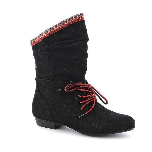 Bambu Kvinna Picknick-03 Boot Black