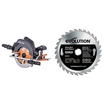 V Evolution Power Tools Build R185CCSX Multi-Material Track Saw with Plus Pack