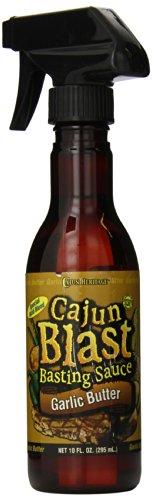 Cajun Blast Sauce Spray, Garlic Butter, 10 Ounce