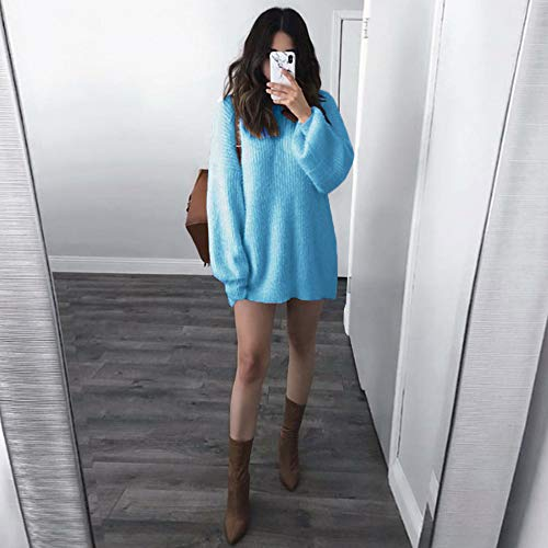 Courtes DAYLIN V Bleu Femme Solid Dcontract Top Col Chemisier Manches rwT0rqgA