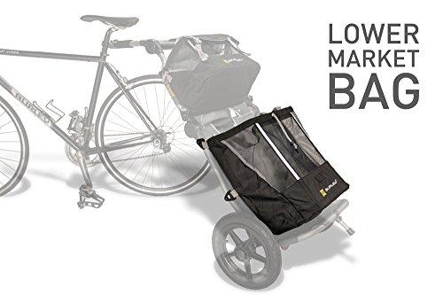 Burley Einkauftasche für Transport Trolley Travoy Shopping Bag - Unten black