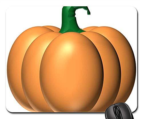 Mouse Pad - Pumpkin Orange Halloween Fruit Vegetable Stem ()