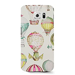 Hot Cool Design Hot Air Balloon Phone Case Protective Shell Cover For Samsung Galaxy S6 Hot Air Balloon Perfect Awesome