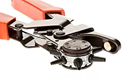 SE 7924LP Heavy-Duty Leather Hole Punch Tool, 2.0 - 4.5 mm