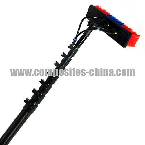14.7m carbon fiber window cleaning water fed pole (Full carbon) (Fed Pole Water)