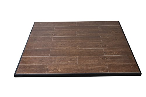 "US Stove HS48WG2 Boxed Hearth Pad Kit 48"" Medium Oak Square only"