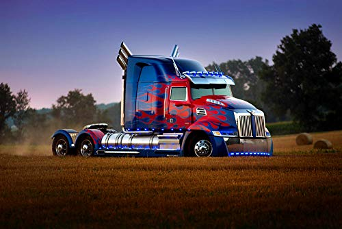 Transformers: The Last Knight Trucks Optimus Prime Truck Movies photolorry wallpaper image download on the desktop PC, Tablet, Mobile phones Wall Art, Pop Art, Poster, Art Prints | Rare Posters