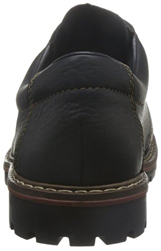 Rieker 17710 Mens Lace Up Nero