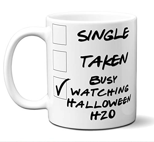 Funny Halloween H20 Novelty Movie Lover Gift Mug.