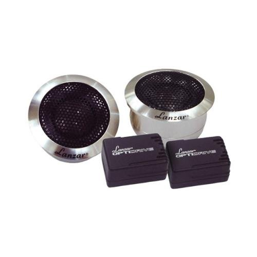 Pair Lanzar Optitw 1 200w Car Audio Titanium Dome Tweeter 200 Watt