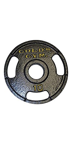 Gold's Gym 10 lb 2'' Grip Plate by Gold's Gym