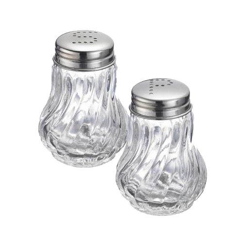 Westmark 65362270 Set Salt & Pepper Shaker Berlin, A, Glass by Westmark