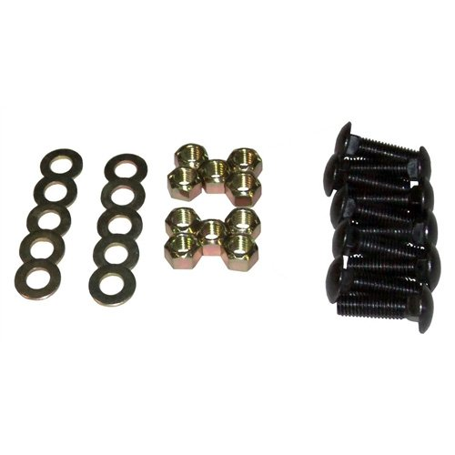 Boss Plow Part # BAX00034 - Cutting Edge Bolt Kit - 8 Carriage Bolts 1/2'' 13 x 1-3/4 GR5 with Washers and Nuts by BOSS