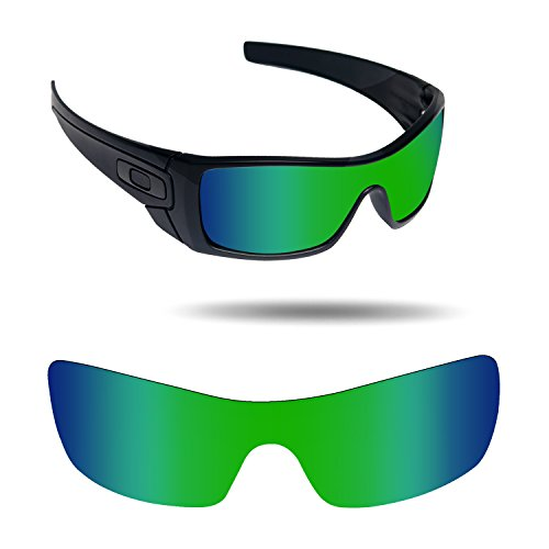 Fiskr Anti-Saltwater Replacement Lenses for Oakley Batwolf Sunglasses - Various - Lenses Mirrored