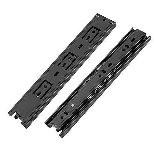 10 inch black drawer slides - 7