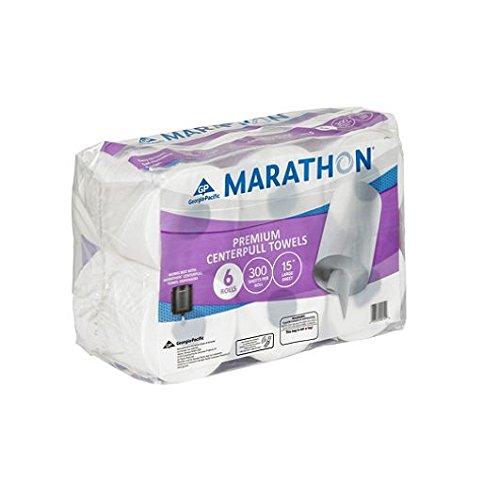 Marathon - Center Pull Paper Towel Rolls, Premium (1,800 Sheets) - Wipers Center Pull
