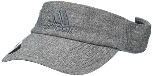 (adidas Men's Ultimate Visor, Black Chambray/Onix, One Size)