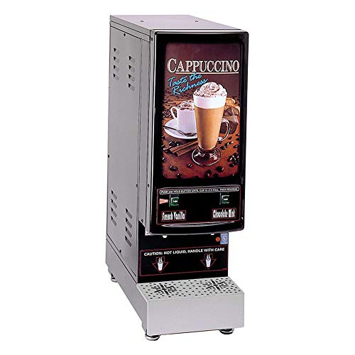 Grindmaster-Cecilware 2K-GB-LD Hot Powder Cappuccino/Hot Chocolate and Specialty Beverage Dispenser