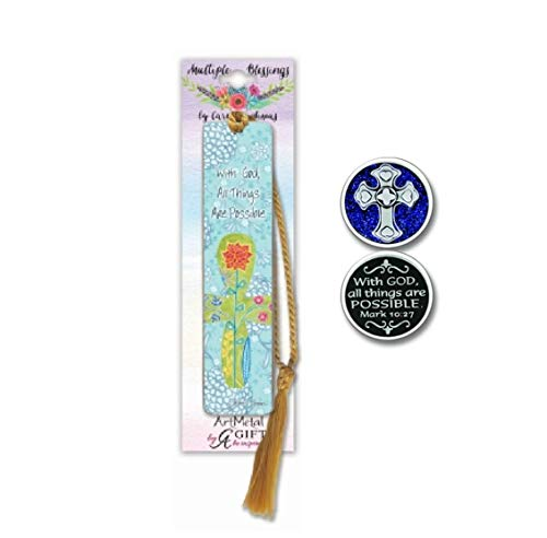 - Pretty Metal-Art Bookmark