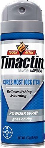 (TINACTIN Antifungal Powder Spray, 4.6 oz)