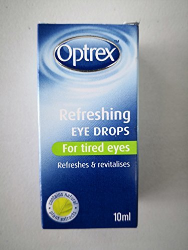 Optrex Eye Drops 10ml Soothes, cools and refreshes tired and sore eyed