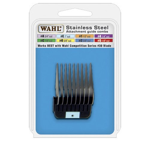 Wahl Stainless Steel Grooming Comb #E, My Pet Supplies
