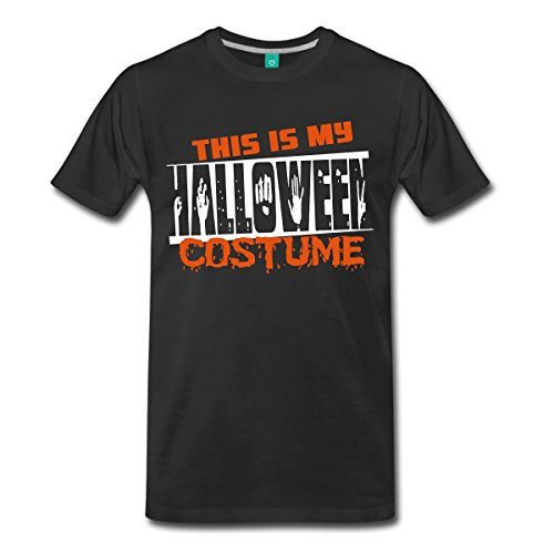 This Is My Halloween Costume Men's Premium T-Shirt by Spreadshirt, 5X, (Hallowe'en Costumes)
