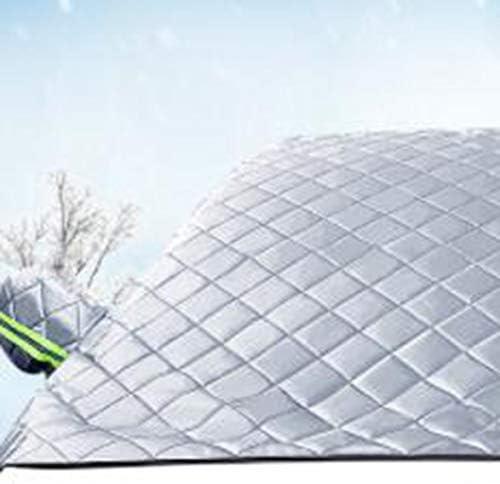 Tivollyff カースタイリングカーカバーフロントガラスカバーヒートサンシェードアンチスノーフロストアイスシールドダストプロテクター冬
