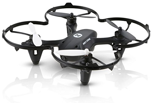 Holy Stone HS170C Predator 2 Mini RC Quadcopter Drone with HD Camera 2.4Ghz 4 CH 6 Axis Gyro Helicopter,Color Black