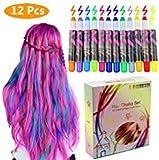 Best Hair Chalks - Philonext Hair Chalks Set - 12 Colorful Professional Review