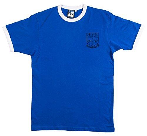 Retro Chelsea 1905 Fútbol camiseta nueva tallas S-XXL Logotipo Bordado - algodón, Azul