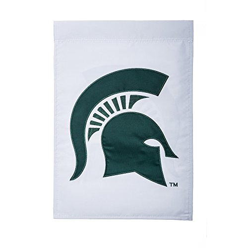 Evergreen NCAA Michigan State Spartans Sculpted Applique Style, Team Colors, One Size