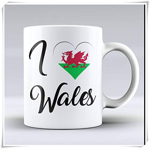 (PerfectPrintedAQA - Wales Mug - Wales Country Mug - Tea Mug - Birthday Gift - Souvenir Mug - Funny Coffee Mug - Tea Cup, 11oz Ceramic Coffee Mug/Cup/Drinkware, High Gloss)