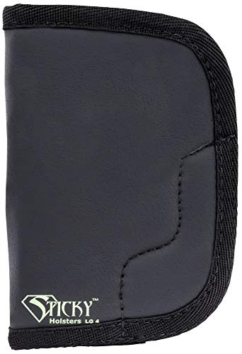 (Sticky Holsters Lg-4 Large Lg-4, Black )