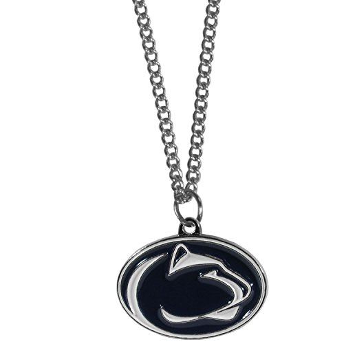 Siskiyou NCAA Penn State Nittany Lions Chain Necklace with Small Charm, -