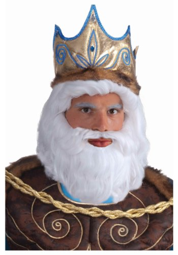 King Neptune Wig Costume Accessory (King Neptune Wig)