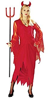 Amakando Teufel Kostum Damen Teufelkostum Teufelskostum Lady